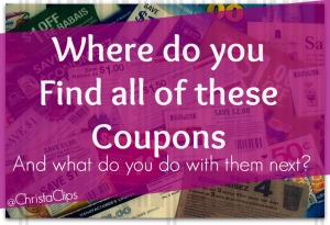 3 Quick Steps to stretch the value of each and every coupon!