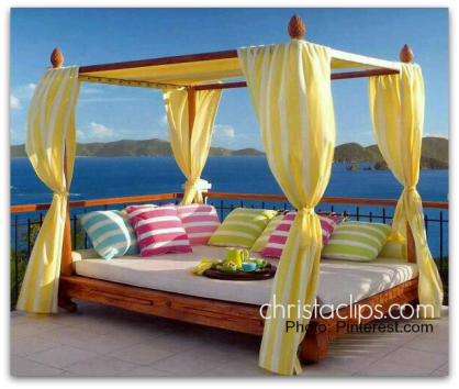 Christa Clips wants to take on this DIY Bali Bed Upcyle project!