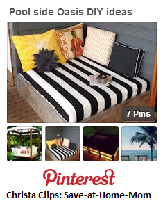 Connect with Christa Clips on Pinterest and send along any other Bali Bed ideas you stumble upon!
