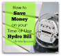 May 1st Hydro Time of Use Changes in Ontario: Save Money on Your Electricity Bill
