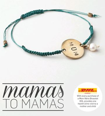 #CDNmoney twitter chat co-hosts Christa Clips and Common Cents Mom have purchased this Meaningful Mother's Day gift to share as a prize for our twitter chat: a Mama's to Mamas Neno World Bracelet.