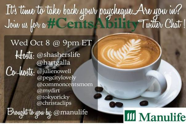 #CentsAbility Twitter Chat with @ChristaClips Oct 8 9pmET